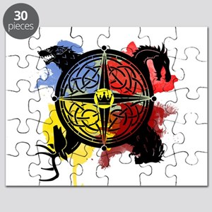 Game of Thrones Sigil Puzzle