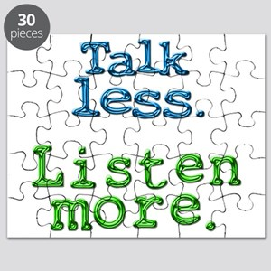Talk Less. Listen More. Puzzle