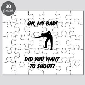 Want to shoot Puzzle