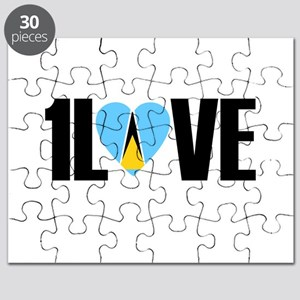 1LOVE ST.LUCIA Puzzle