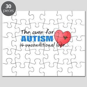 Autism Cure Puzzles - CafePress