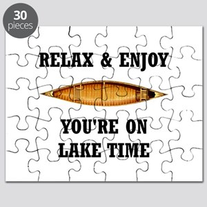 On Lake Time Puzzle