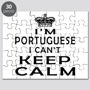 I Am Portuguese I Can Not Keep Calm Puzzle