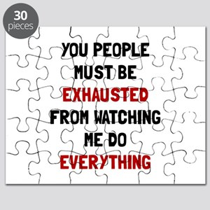 Exhausted Puzzle