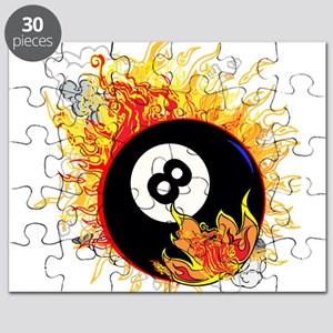 Fiery Eight Ball Puzzle