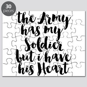The Army has my Soldier but I have his Hear Puzzle
