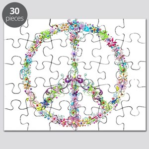 Peace of Flowers Puzzle