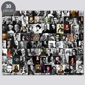 Famous Writers Puzzles - CafePress