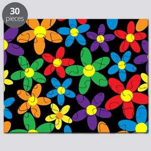 Flowers Colorful Puzzle