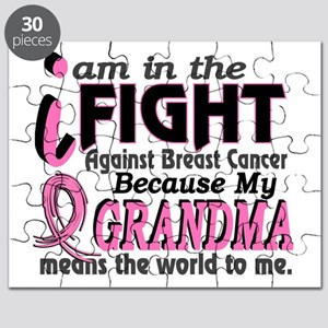 In Fight Because My Breast Cancer Puzzle