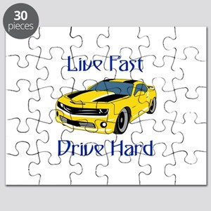 Live Fast Drive Hard Puzzle