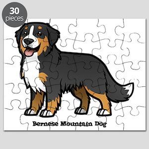 Bernese Mountain Dog Puzzles Cafepress