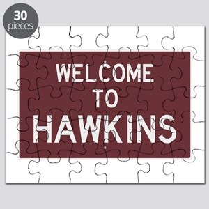 Welcome to Hawkins Puzzle