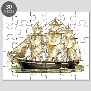 Father's Day Classic Tall Ship Puzzle
