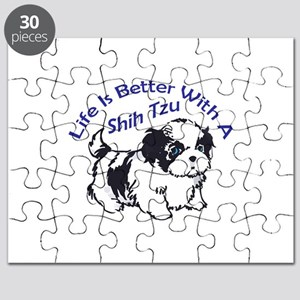BETTER WITH SHIH TZU Puzzle