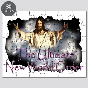 Jesuscominwiththeclouds2text1001 Puzzle
