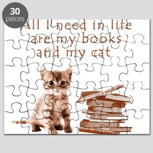 Cats and books Puzzle