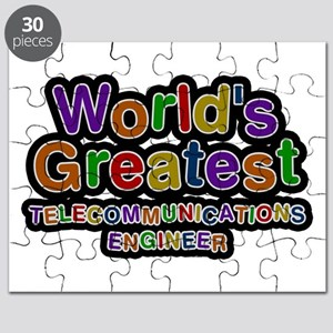 World's Greatest TELECOMMUNICATIONS ENGINEER Puzzl