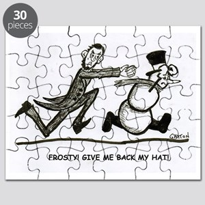 Abe and Frosty Puzzle
