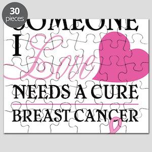 f70f6e18f014 Breast Cancer Research Puzzles - CafePress