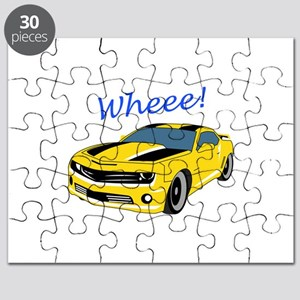 Wheee Fast Cars Puzzle