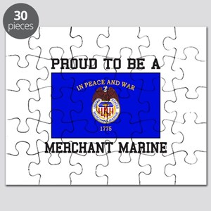 Proud to be a Merchant Marine Puzzle