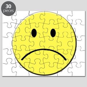 Sad Smiley Face Puzzles - CafePress