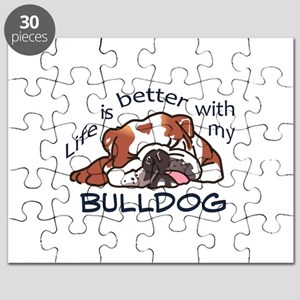 Better With Bulldog Puzzle