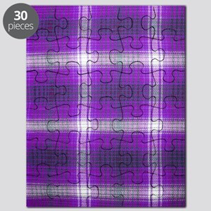 Purple Plaid Puzzle