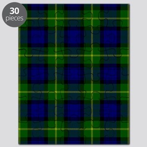 Gordon Scottish Tartan Puzzle