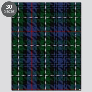 MacKenzie Tartan Shower Curtain Puzzle