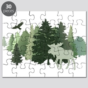 Moose in the Forest Puzzle