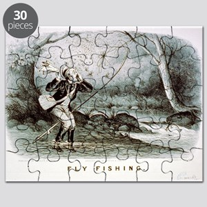 Fly fishing - 1879 Puzzle