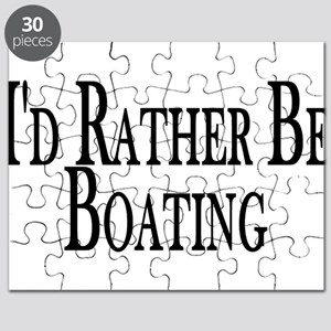 Rather Be Boating Puzzle