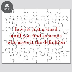 Love-is-just-a-word-BOD-RED Puzzle