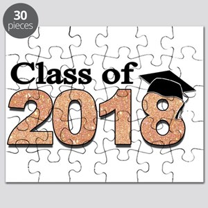 Class of 2018 Glitter Puzzle