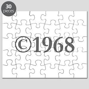 Copyright 1968-Gar gray Puzzle