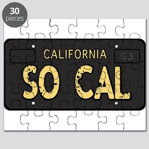 Old socal license plate design Puzzle
