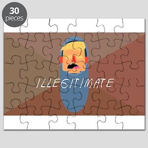 Illegitimate Baby President Trump Puzzle