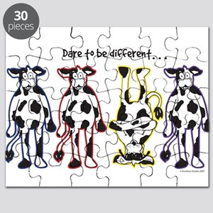 Dare to be Different Cows Puzzle