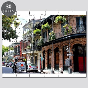 French Quarter Street Puzzle