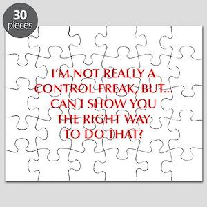 CONTROL-FREAK-OPT-RED Puzzle