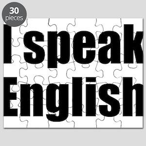 I speak English Puzzle