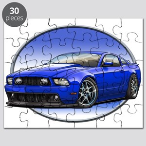 GT Stang Blue Puzzle