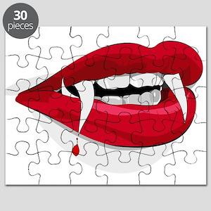 Halloween Vampire Teeth Puzzle