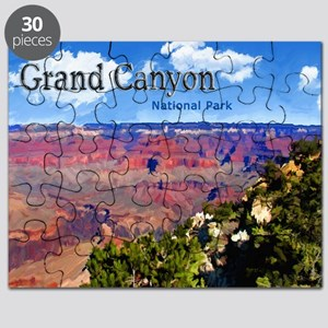 Grand Canyon NAtional Park Poster Puzzle