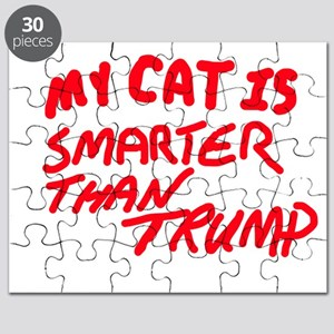 MY CAT IS SMARTER THAN TRUMP Puzzle