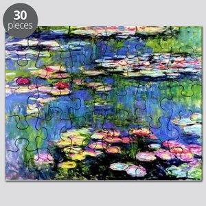 MONET WATERLILLIES Puzzle
