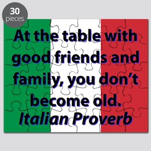 At The Table With Good Friends Puzzle