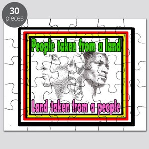 Black American Native American Puzzle